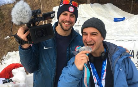 Working as a Camera Operator at the Pyeongchang Winter Olympic and Paralympic Games