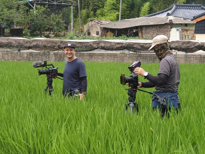 documentary camera operator in South Korea